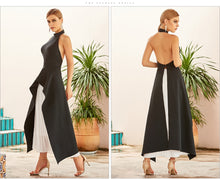 Load image into Gallery viewer, Hazel  White Backless Bandage Two Pieces Set