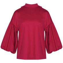 Load image into Gallery viewer, 2 Set Pullover Blouse & Elegant Lantern Sleeve Shirt