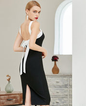 Load image into Gallery viewer, Backless Bandage Dress