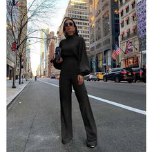 Load image into Gallery viewer, High Street Boot Cut Jumpsuit