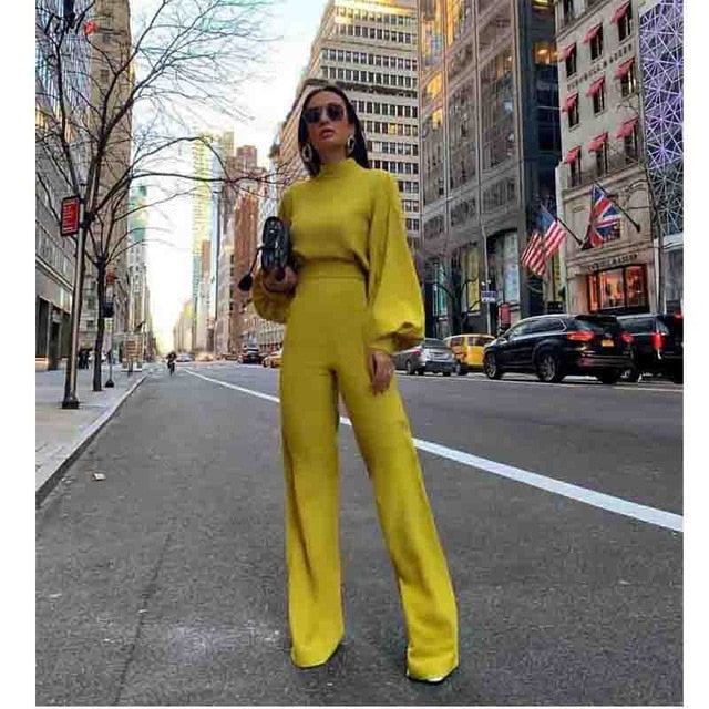 High Street Boot Cut Jumpsuit