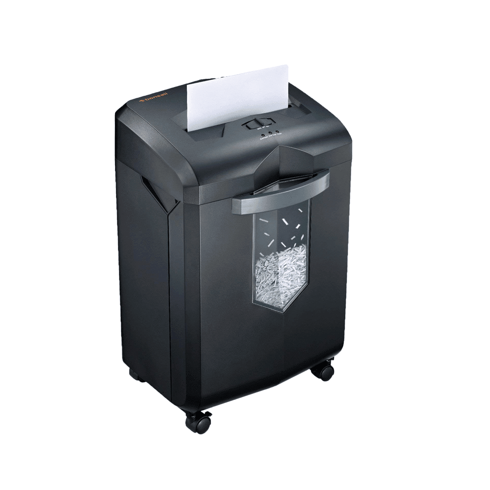Bonsaii C149-D 14-Sheet Micro-Cut 60-Minute Shredder - bonsaii