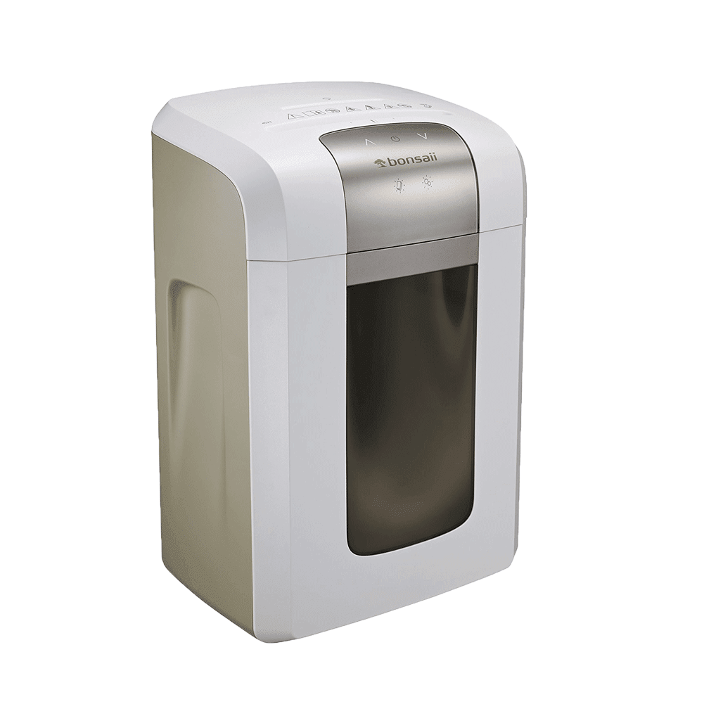 Bonsaii 4S23 8-Sheet Micro-Cut Shredder P-5 Security (Heavy Duty) - bonsaii