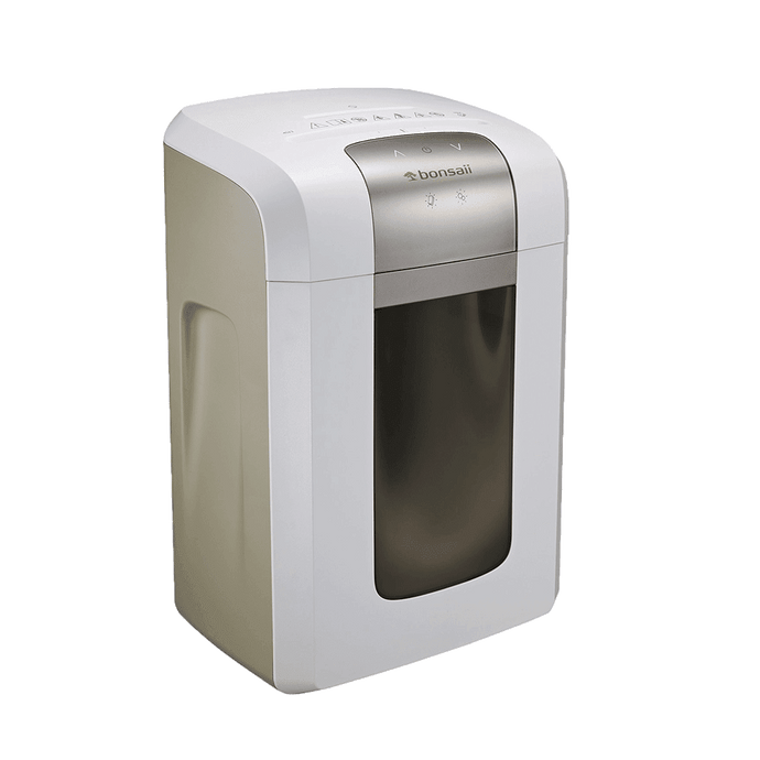 Bonsaii 4S23 P-5 High-Security 8-Sheet Micro-Cut 120-Minute Shredder - bonsaii