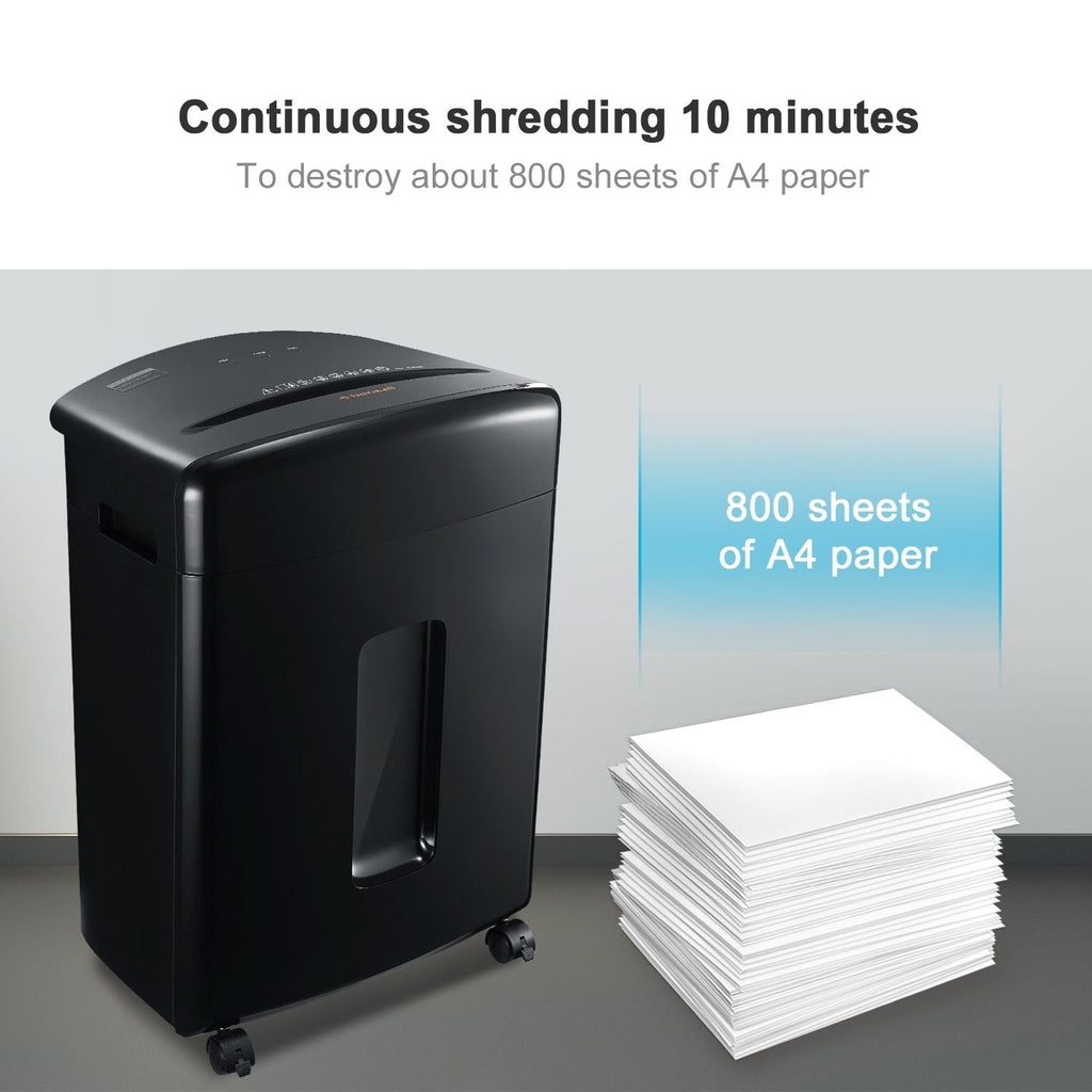 Bonsaii C221-A 15-Sheet Cross-Cut Shredder