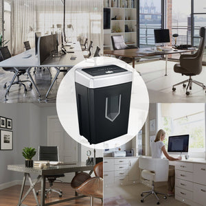 Bonsaii C169-B 14 sheets cross cut Paper Shredder,Good quality for Office - bonsaii