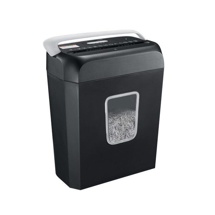 Bonsaii C237-B 6-Sheet Cross-Cut Shredder - bonsaii