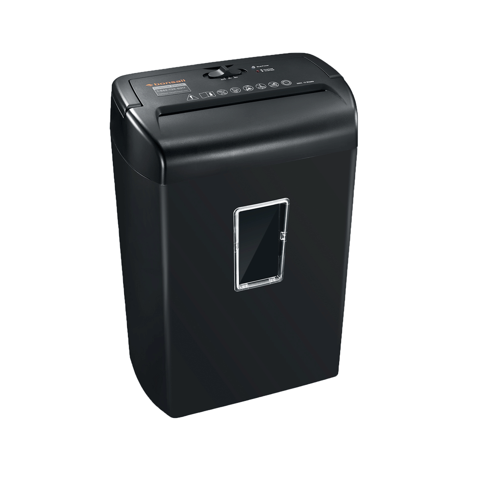 Bonsaii C209-D 10-Sheet Cross-Cut Shredder - bonsaii