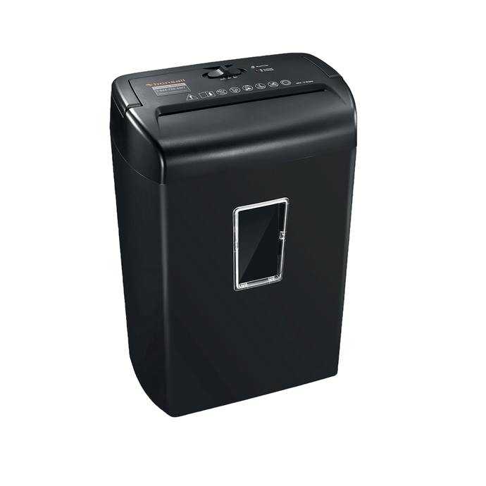 Bonsaii C209-D 10-Sheet Cross-Cut Paper Shredder - bonsaii