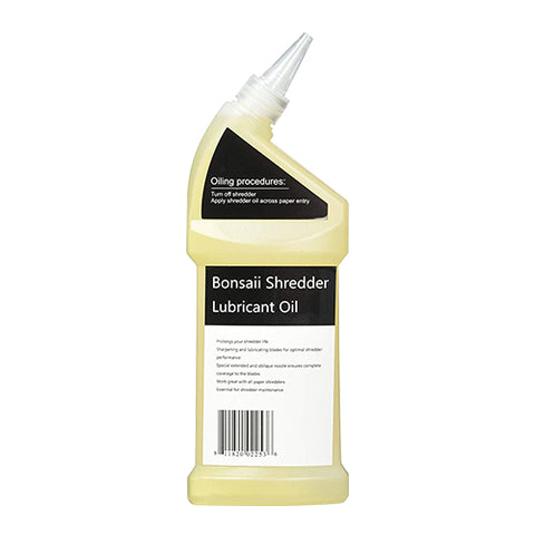 Bonsaii Paper Shredder Lubricant Oil 12 oz. / 400ml
