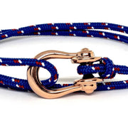 Kalymnos / Blue Patterned / Rose Gold - Kalymnos - Inspired by Rock-climbing - Topologie Hong Kong