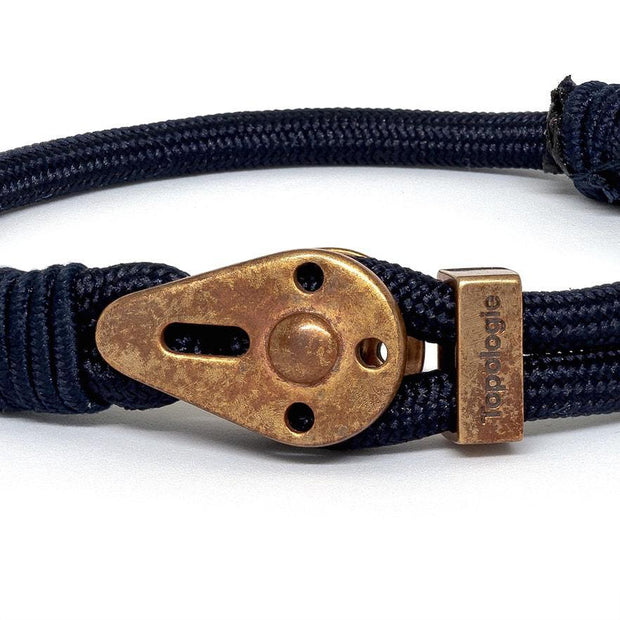 Yosemite / Navy Solid / Raw Brass - Yosemite - Inspired by Rock-climbing - Topologie Hong Kong