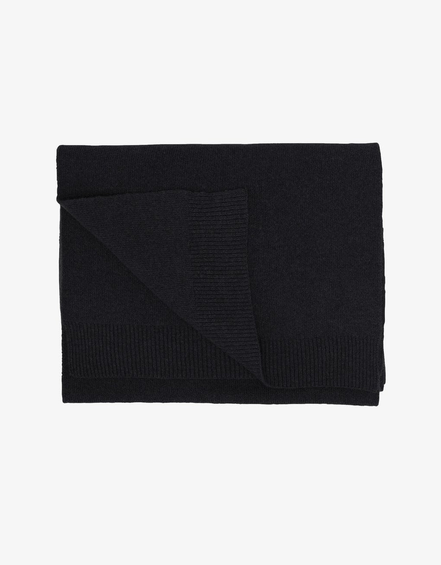 Colorful Standard Halsduk Merino Deep Black