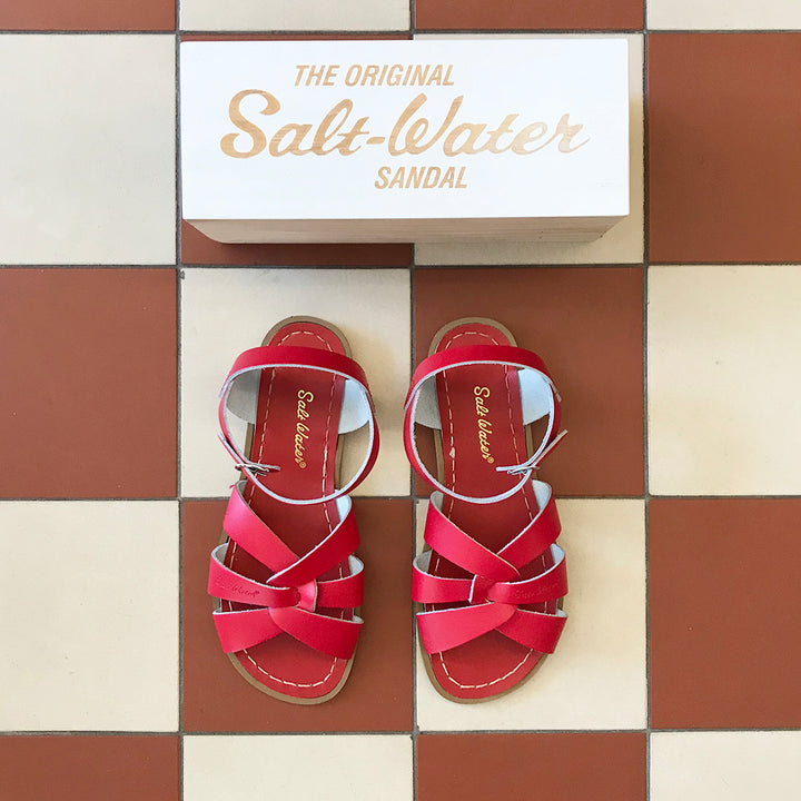 Salt-Water sandal original röd