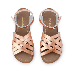 Salt-Water Sandals Retro rosegold sandal