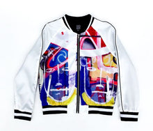 "Load image into Gallery viewer, ""In triplicate"" Bomber jacket"