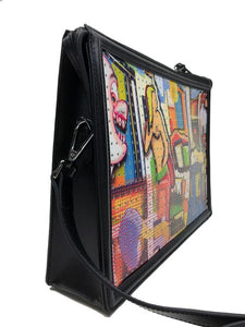 """Peeping Tom"" Large Clutch"