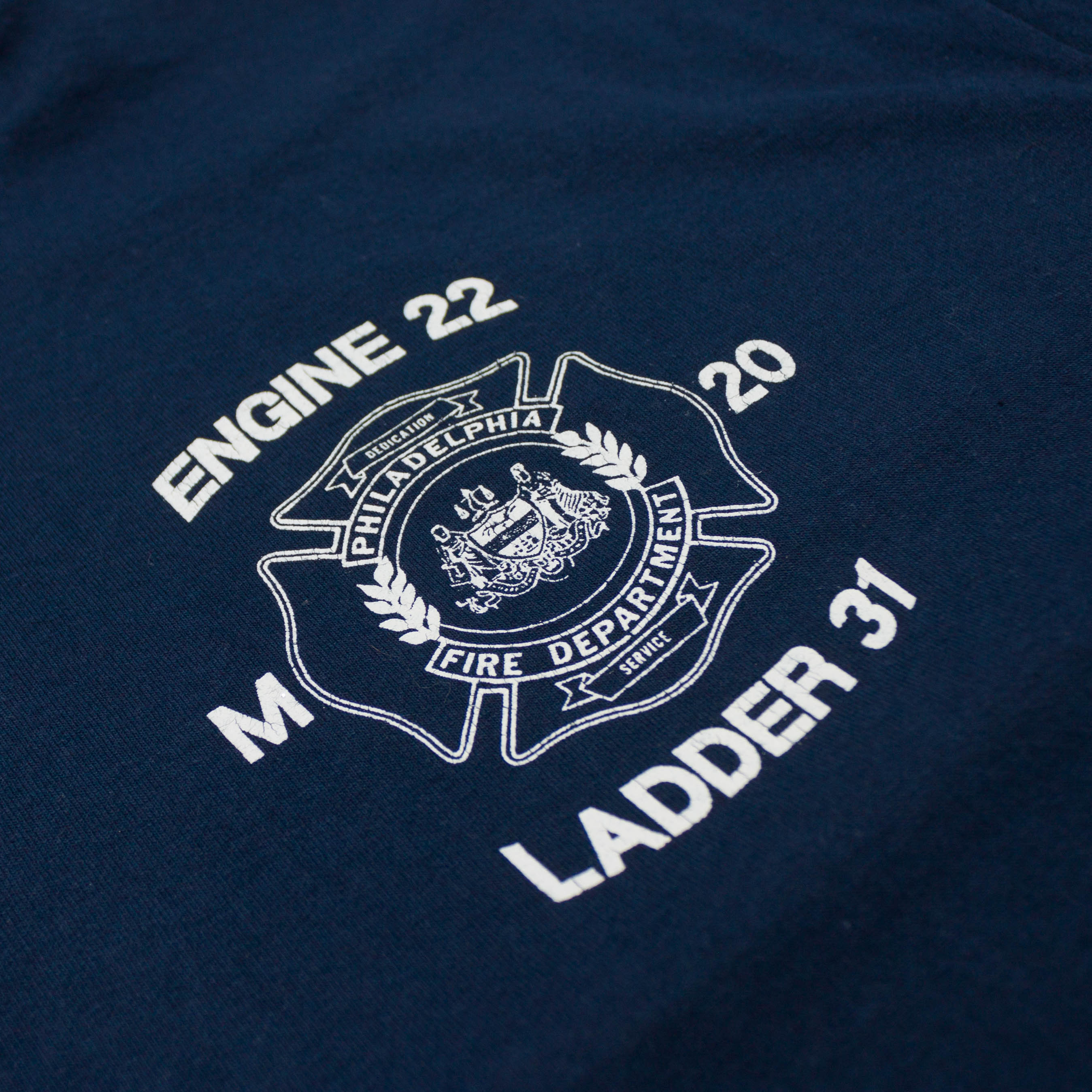 Vintage Single Stitch Philadelphia Fire Department T-shirt