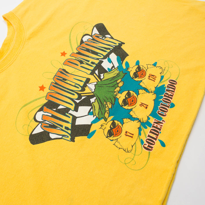 Vintage Sal Duck Racing Cropped T-shirt
