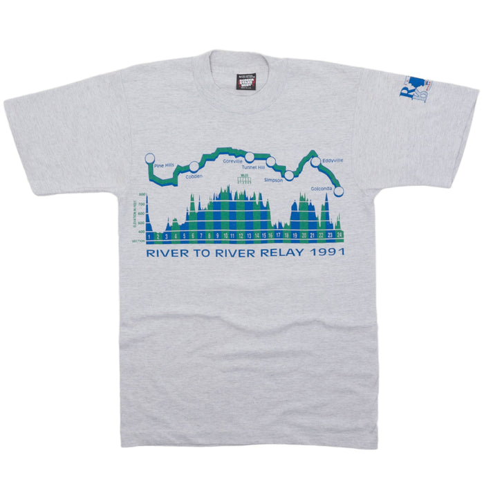 Vintage River to River Relay 1991 T-shirt