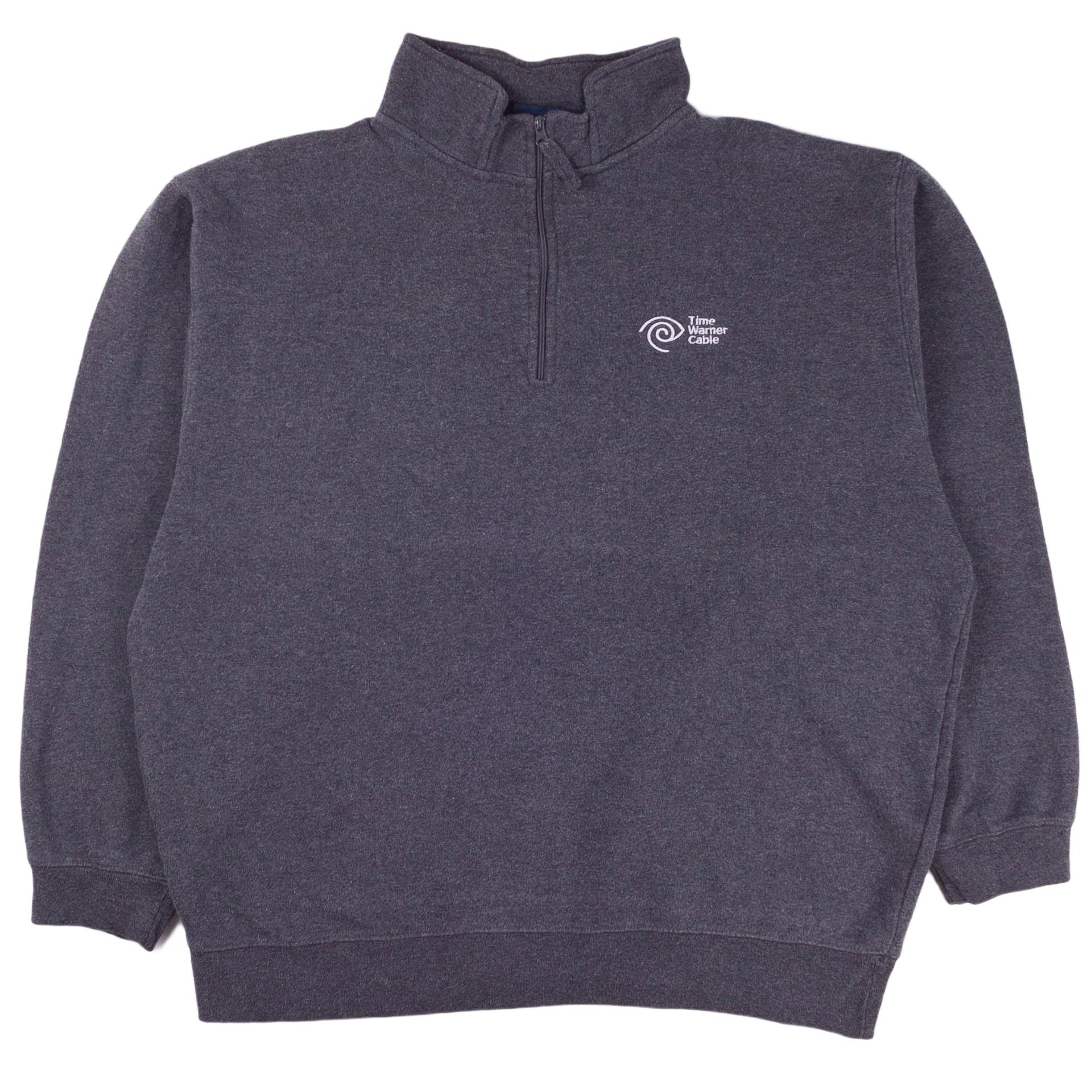 Time Warner Cable 1/4 Zip Sweatshirt