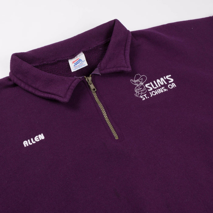 Slim's St.Johns 1/4 Zip Sweatshirt