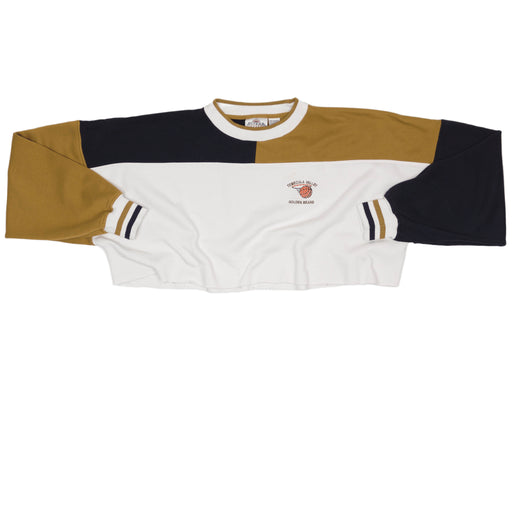 Vintage Golden Bears Cropped Sweatshirt