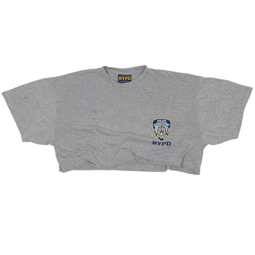 Vintage NYPD Cropped T-shirt