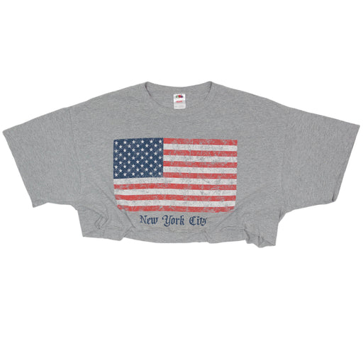 Vintage New York City Cropped T-shirt