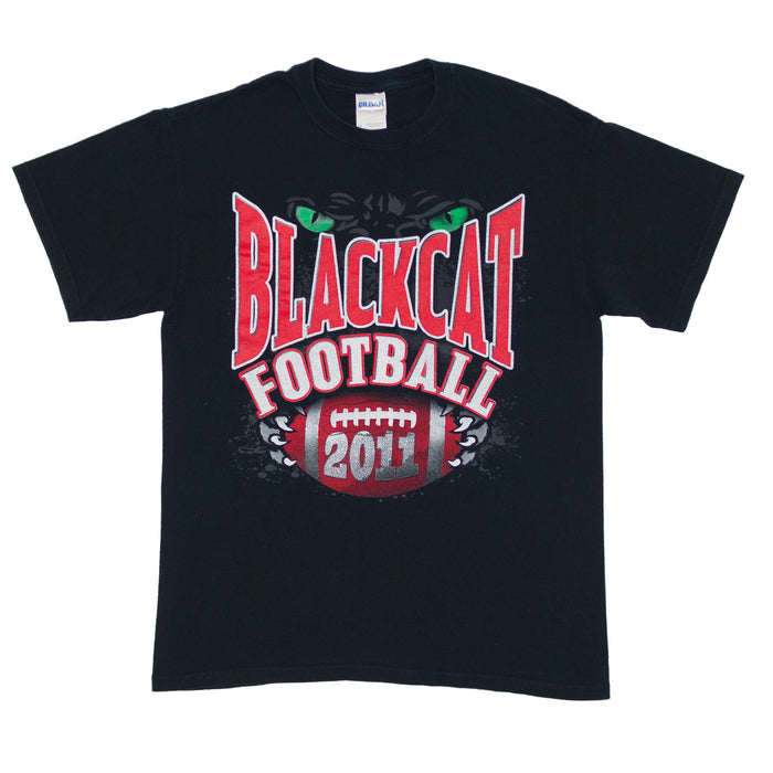 Vintage Blackcat Football T-shirt