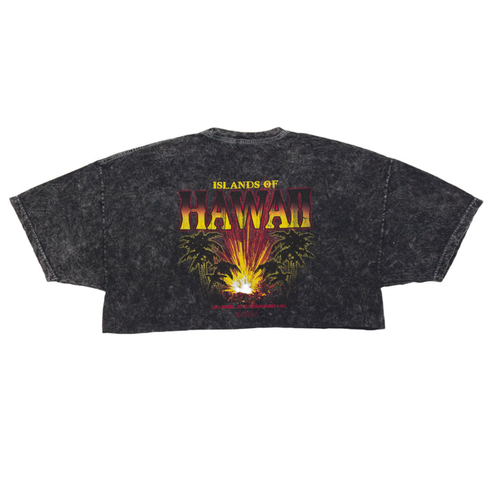 Vintage Hawaiian Lava Cropped T-Shirt