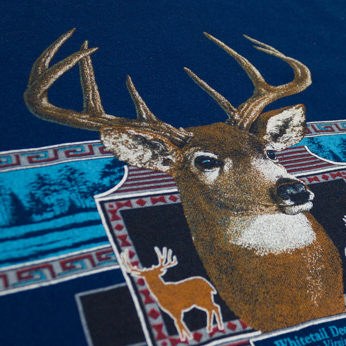Vintage Whitetail Deer Sweatshirt