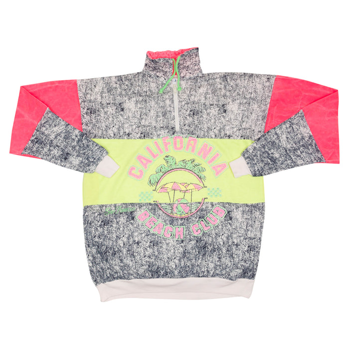 California Beach Club 1/4 Zip Sweatshirt