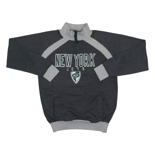Vintage New York Jets 1/4 Zip Sweatshirt