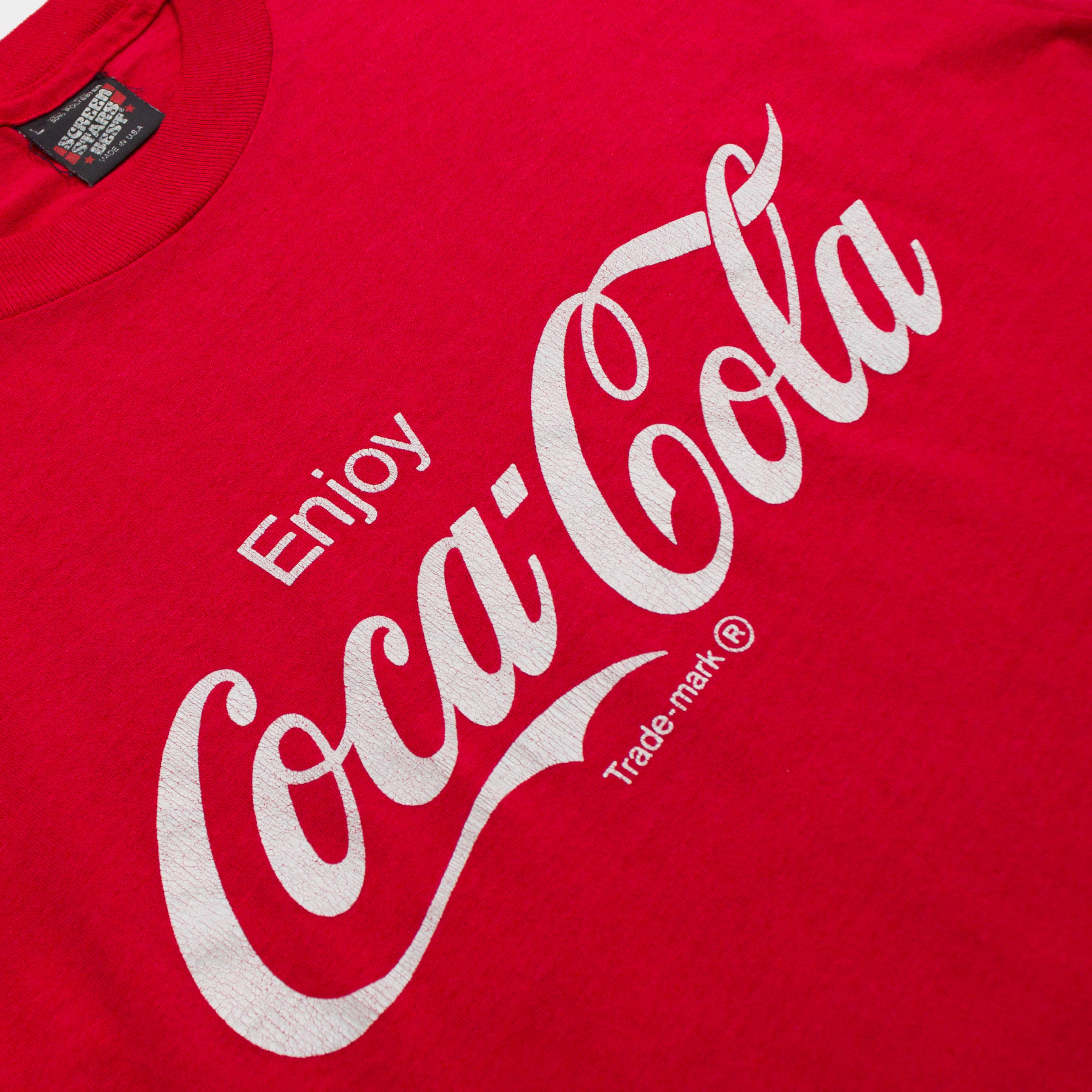 Vintage Single Stitch Coca-Cola T-shirt