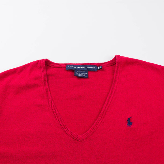 Ralph Lauren Sport V-neck Jumper