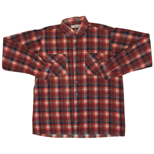 Vintage Cotton Flannel Shirt