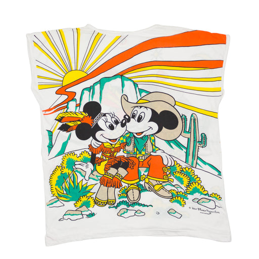 Vintage Disney Mickey & Minnie Mouse T-shirt