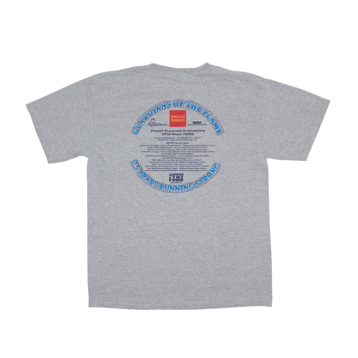Vintage Law Enforcement Run T-shirt