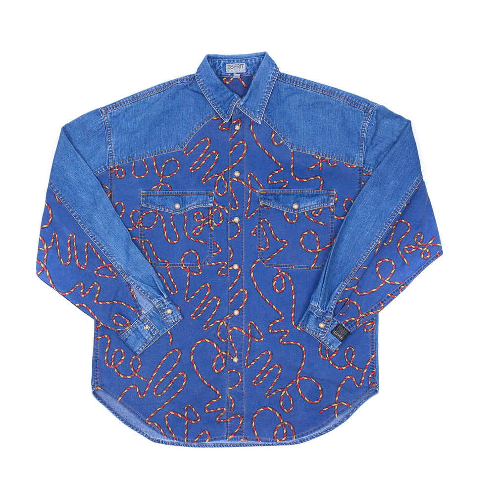 Espirit Womens Denim Shirt