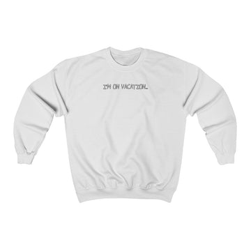 Kevin McDeromott Im on Vacation Crewneck