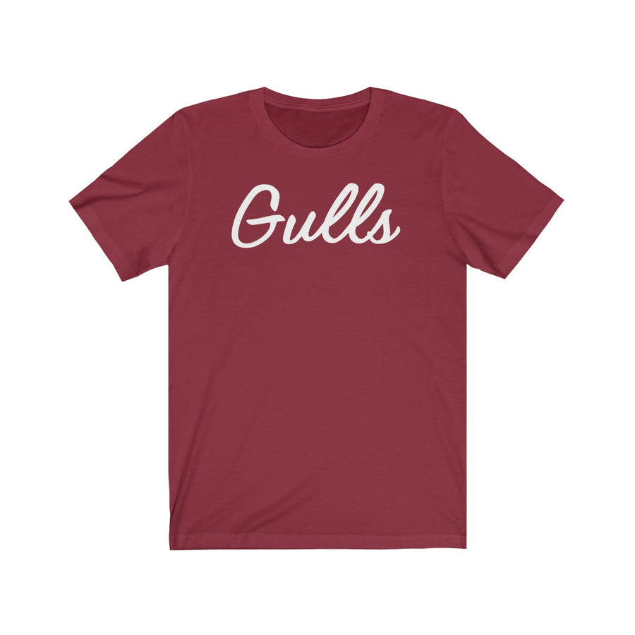 Faded Maroon Gulls Tee
