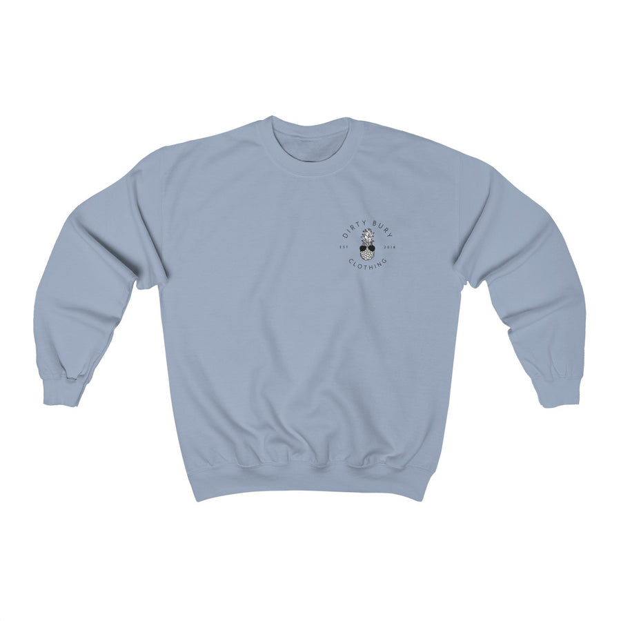Faded Blue H8TRZ Crewneck