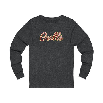 Heather Grey Gulls Long Sleeve