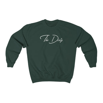The Dirty Dark Teal  Crewneck