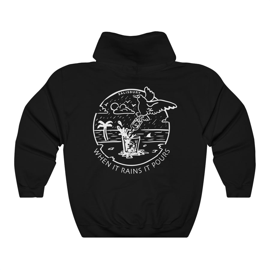 When it Rains it Pours Hoodie (Front & Back)