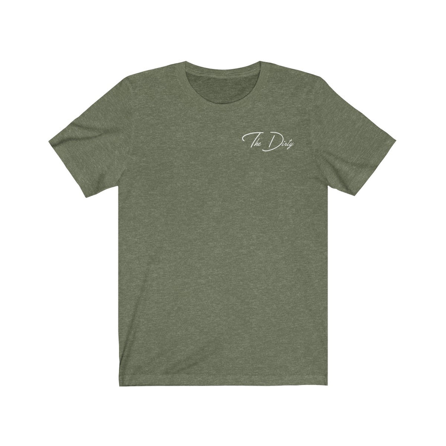 Heather Green Bottle That Up Tee