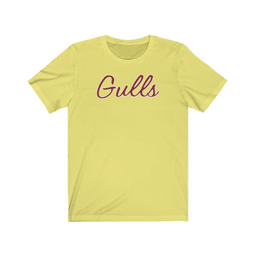 Faded Yellow Gulls Tee
