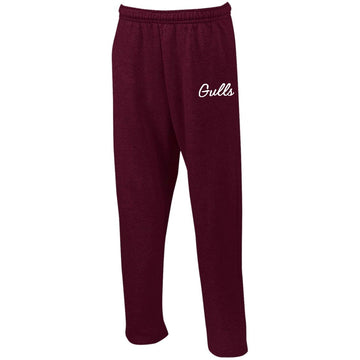 Gulls Embroidered Sweatpants with Pockets
