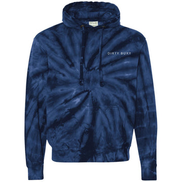 Embroidered DB Tie-Dyed Hoodie